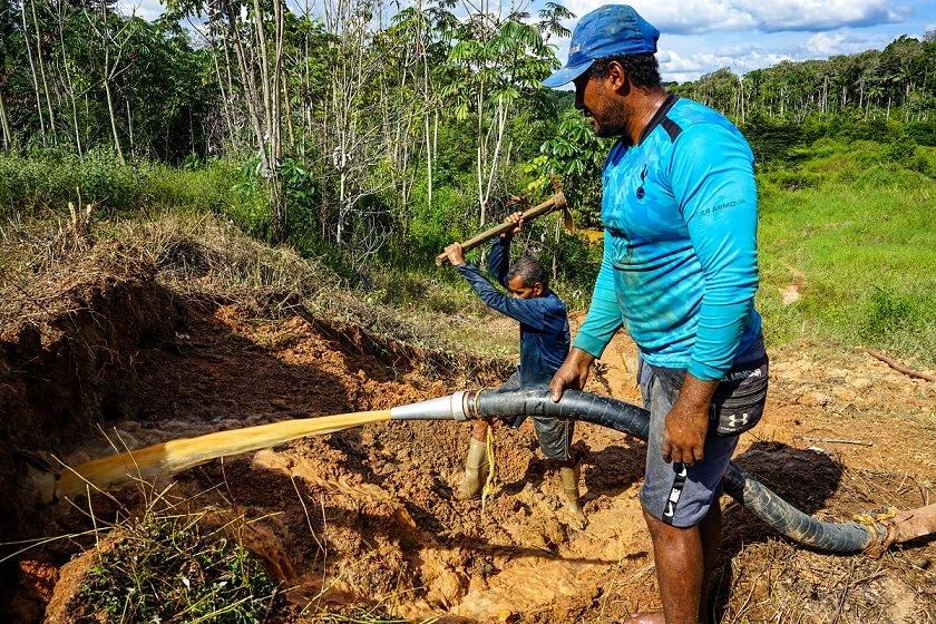 orpaillage au Guyana